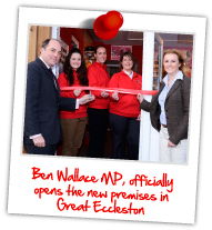 New Premises Opening - Great Eccleston