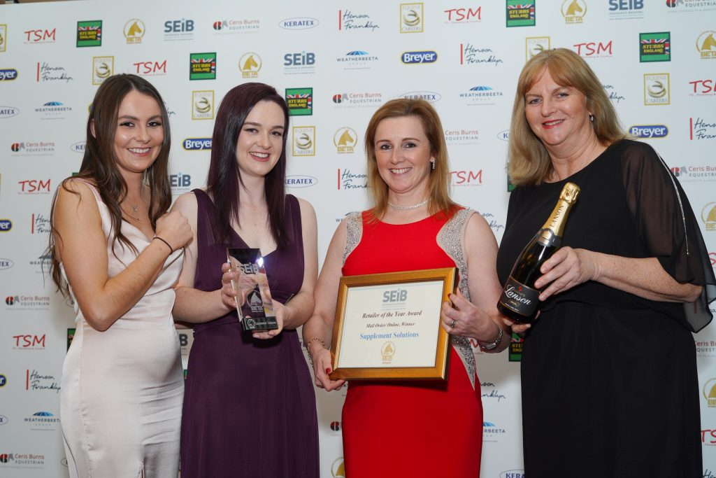 Supplement Solutions SEIB Retailer of the Year award
