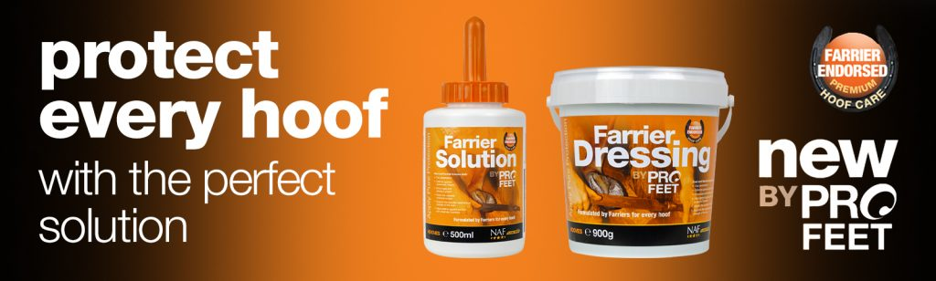 Farrier Solution and Farrier Dressing from NAF ProFeet