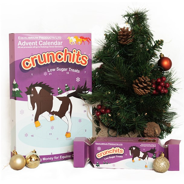 Equilibrium Products Crunchits Horse Advent Calendar and Cracker