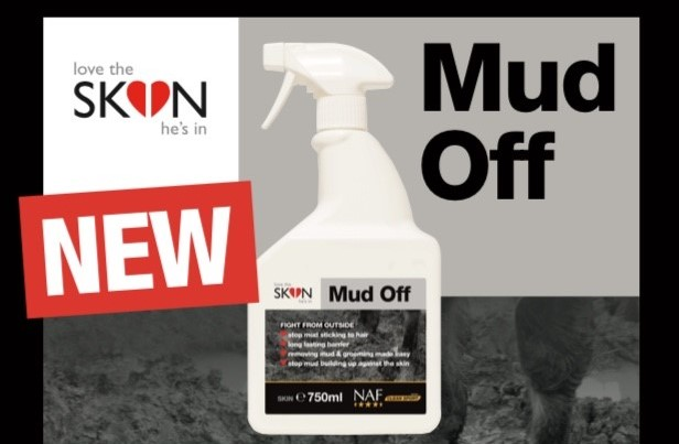 Mud Off from NAF, your new weapon for mud fever prevention
